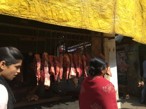 Butcher shop--mutton?