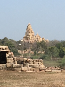 From these oldest ruins the main temple park is visible.