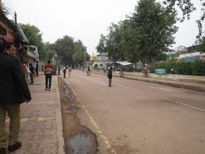 Bustling metropolis of Khajuraho.