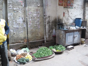 Produce for sale all over the place.