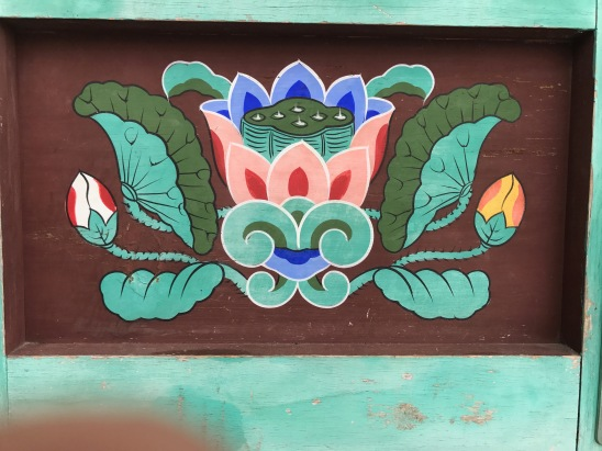 Beomeosa Temple painting detail