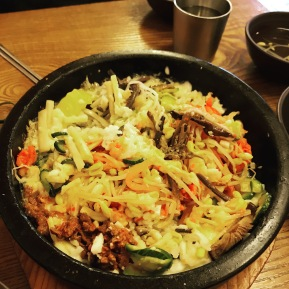 Cheesy bibimbop