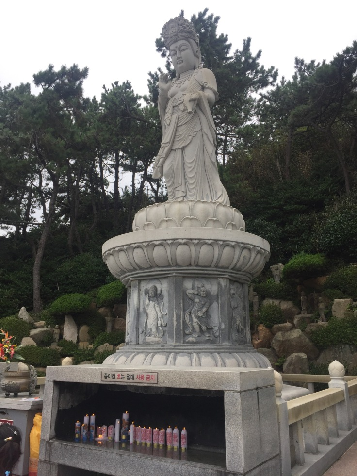Goddess of Mercy at Haedong Yonggungsa temple